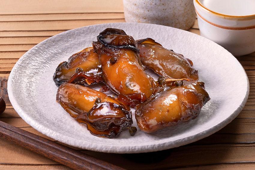 牡蠣の磯煮